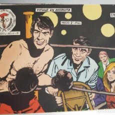 Tebeos: AVENTURAS DEPORTIVAS. REVISTA PARA LOS JÓVENES . 18. TÍTULO EN DISPUTA .RICART, 1957. Lote 273193198