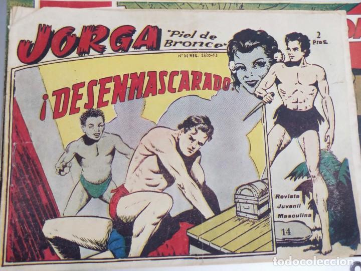 JORGA 14. DESENMASCARADO (Tebeos y Comics - Ricart - Jorga)