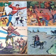 Tebeos: LINCE Nº 18 (GEMEX 1962) + WINCHESTER JIM Nº 4, 24 Y 33 (RICART 1963/64) 4 TEBEOS.. Lote 243328150