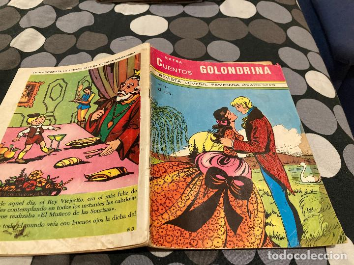EXTRA CUENTOS GOLONDRNA Nº119 EDITORIAL RICART 1970 (Tebeos y Comics - Ricart - Golondrina)