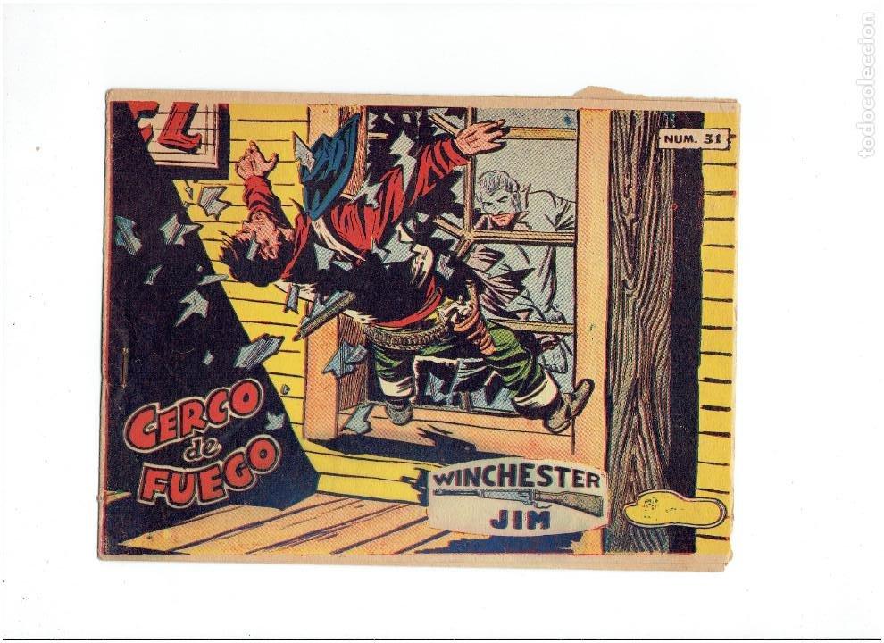 ARCHIVO * WINCHESTER JIM * RICART 1964 * ORIGINAL Nº 31 * COLECCION RIFLE * (Tebeos y Comics - Ricart - Otros)