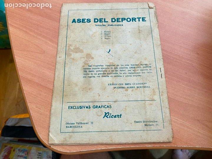 Tebeos: ASES DEL DEPORTE Nº 15 BAGUR REAL SOCIEDAD (COIB207) - Foto 2 - 287943528