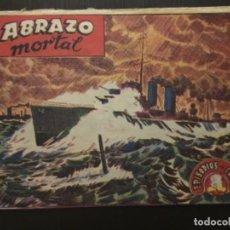 Tebeos: COMIC EDICITORIAL RICART EPISODIOS DE COREA NÚMERO 35 ABRAZO MORTAL. Lote 288160298