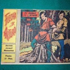 Tebeos: FLECHA Y ARTURO Nº 7. EL DOBLE DE ARTURO. RICART 1965.. Lote 288486513
