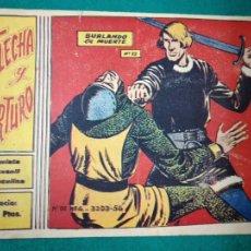Tebeos: FLECHA Y ARTURO Nº 13. BURLANDO LA MUERTE. RICART 1965.. Lote 288486598