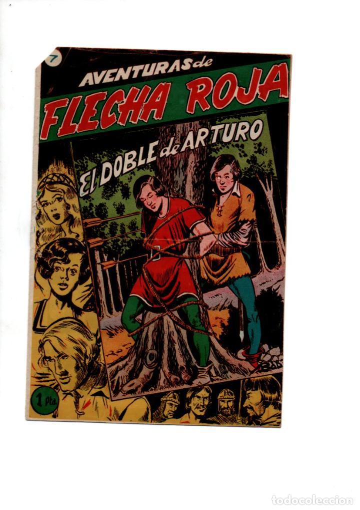 AVENTURAS DE FLECHA NEGRA, Nº 7. EL DOBLE DE ARTURO. GRAFICAS RICART (Tebeos y Comics - Ricart - Otros)