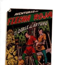 Tebeos: AVENTURAS DE FLECHA NEGRA, Nº 7. EL DOBLE DE ARTURO. GRAFICAS RICART. Lote 288562938