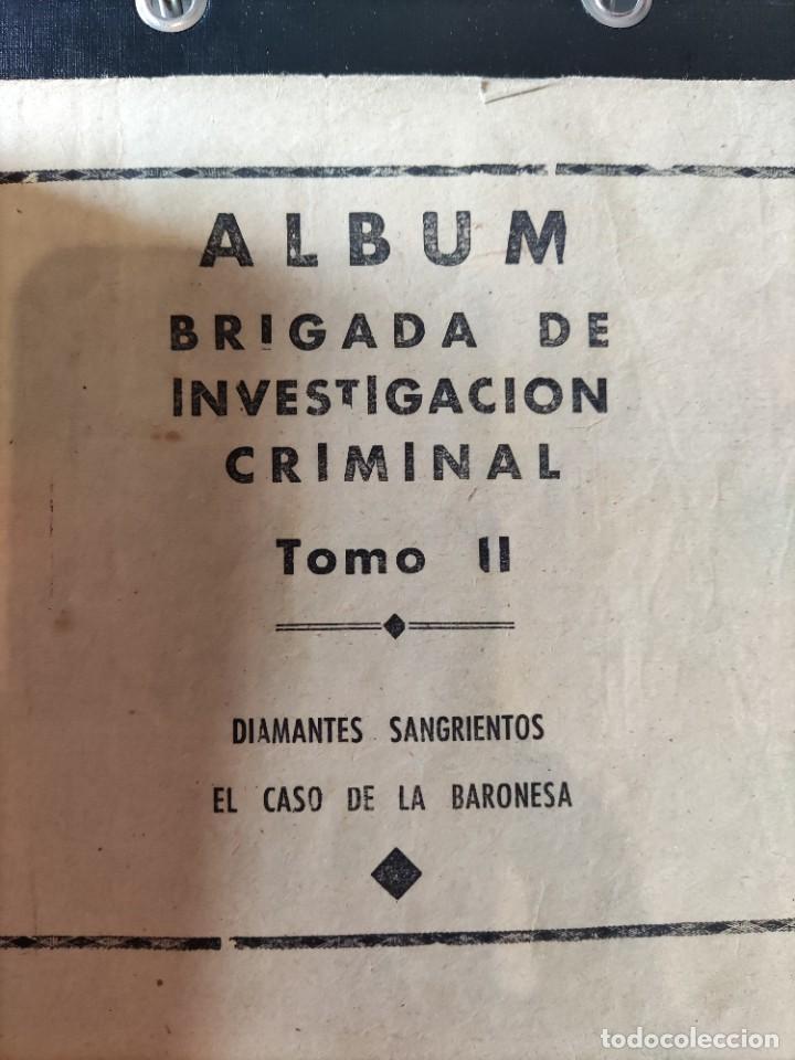 Tebeos: TEBEO- DIAMANTES SANGRIENTOS- MARTÍN VEGA de la B.I.C.- TOMO II- EXCLUSIVAS GRÁFICAS RICART- DIFÍCI - Foto 3 - 289240838