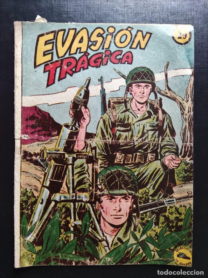 TEBEO- EVASIÓN TRÁGICA- EXCLUSIVAS GRÁFICAS RICART (Tebeos y Comics - Ricart - Otros)