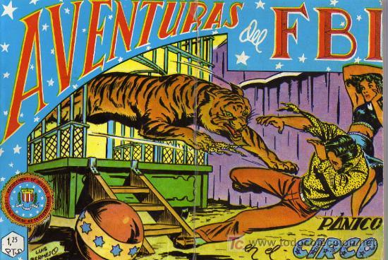AVENTURAS DEL F.B.I. Nº4 (Tebeos y Comics - Rollán - FBI)