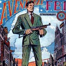 Tebeos: EXTRAORDINARIO AVENTURAS DEL FBI Nº6. Lote 4147533