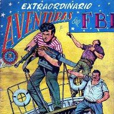 Tebeos: EXTRAORDINARIO AVENTURAS DEL FBI Nº5. Lote 4147584