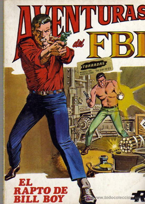 AVENTURAS DEL F.B.I. Nº5 (Tebeos y Comics - Rollán - FBI)