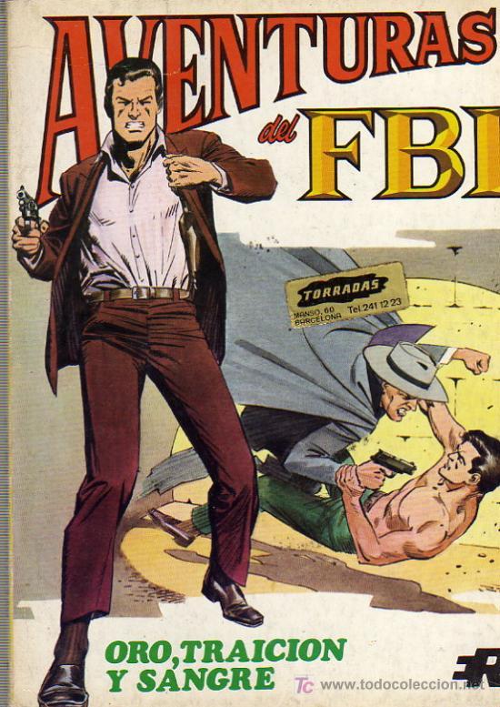 AVENTURAS DEL F.B.I. Nº6 (Tebeos y Comics - Rollán - FBI)