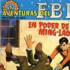 Tebeos: AVENTURAS DEL F.B.I. NOVELA GRAFICA EDITORIAL ROLLAN, Nº 15. Lote 4970198