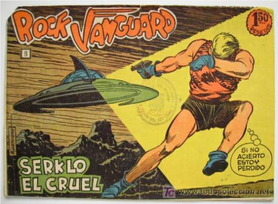 ROCK VANGUARD . Nº 5 . ENVÍO INCLUIDO (Tebeos y Comics - Rollán - Rock Vanguard)