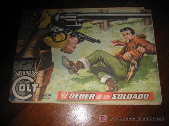 MENDOZA COLT EL DEBER DE UN SOLDADO Nº 39 (Tebeos y Comics - Rollán - Mendoza Colt)
