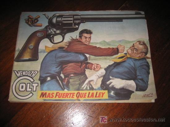 MENDOZA COLT MAS FUERTE QUE LA LEY Nº 41 (Tebeos y Comics - Rollán - Mendoza Colt)