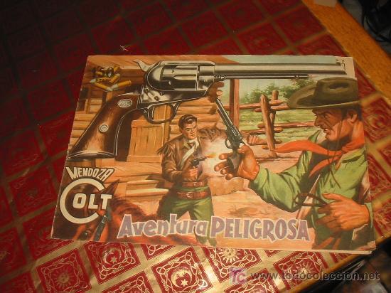 MENDOZA COLT N-18 (Tebeos y Comics - Rollán - Mendoza Colt)