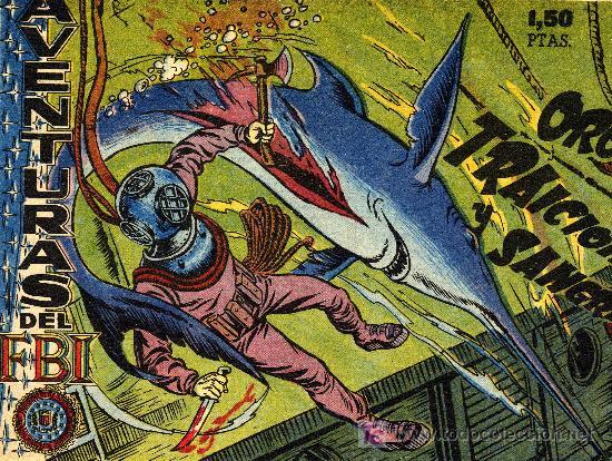 AVENTURAS DEL F.B.I. Nº 17 (CUADERNILLO ORIGINAL DE LOS AÑOS 50) (Tebeos y Comics - Rollán - FBI)