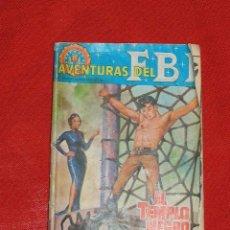 Tebeos: AVENTURAS DEL FBI - EL TIEMPO NEGRO. - ORIGINAL EDICIONES ROLLAN MADRID AÑO1965 EDICIÓN DE BOLSILLO. Lote 13891861