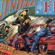 Tebeos: AVENTURAS DEL F.B.I. Nº 44 (CUADERNILLO ORIGINAL). PRIMERA EDICIÓN. Lote 7568492