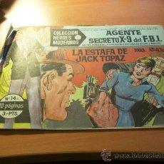 Tebeos: AGENTE SECRETO X-9 DEÑ F.B.I. COL HEROES MODERNOS C- 14. Lote 8943392