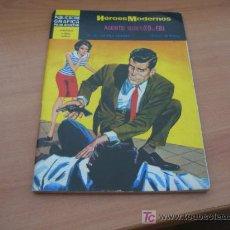 Tebeos: HEROES MODERNOS. AGENTE SECRETO X-9 DEL F.B.I. Nº 6. Lote 10789354