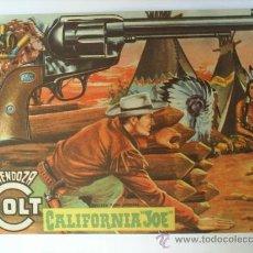 Tebeos: MENDOZA COLT-N.56 -CALIFORNIA -JOE- 1958 ---EDTORIAL ROLLAN. Lote 18934274