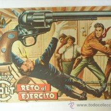 Tebeos: MENDOZA COLT-N.38--RETO AL EJERCITO- 1958-EDITORIAL ROLLAN. Lote 13861350