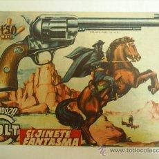Tebeos: MENDOZA COLT-EL N. 62- JINETE FANTASMA 1958 --EDIC. ROLLAN. Lote 24679124