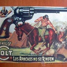 Tebeos: MENDOZA COLT, Nº 68 - EDITORIAL ROLLÁN 1955. Lote 14704641