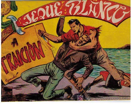 JEQUE BLANCO. Nº 27 (Tebeos y Comics - Rollán - Jeque Blanco)