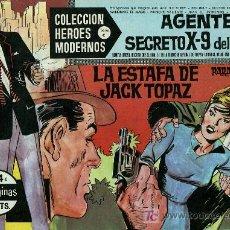 Tebeos: AGENTE SECRETO X-9 DEL F.B.I. - COLECCIÓN HEROES MODERNOS Nº 14 SERIE C - 1964 - COMO NUEVO. Lote 10312890