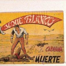 Tebeos: JEQUE BLANCO Nº104 DE ROLLAN . Lote 23784981