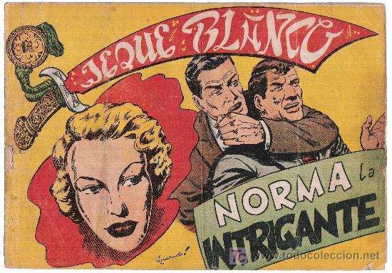 JEQUE BLANCO. Nº 108 (Tebeos y Comics - Rollán - Jeque Blanco)