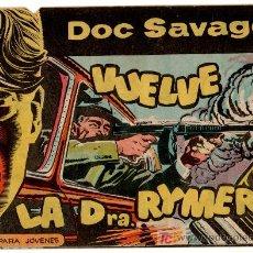 Tebeos: DOC SAVAGE ORIGINAL Nº 5, POR ANTONIO HERNANDEZ PALACIOS, EDITORIAL ROLLAN 1961. Lote 21454888