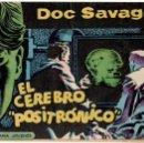 Tebeos: DOC SAVAGE ORIGINAL Nº 10, POR ANTONIO HERNANDEZ PALACIOS, EDITORIAL ROLLAN 1961. Lote 18263393