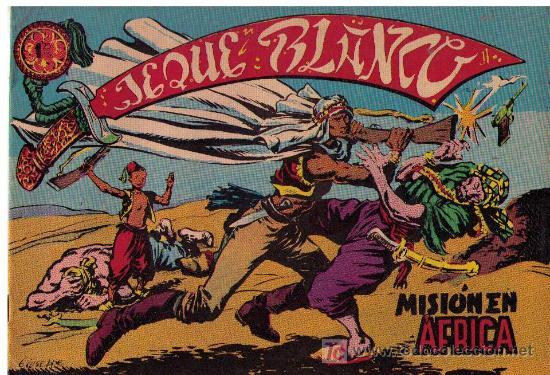 JEQUE BLANCO. Nº 1 REEDICIÓN (Tebeos y Comics - Rollán - Jeque Blanco)