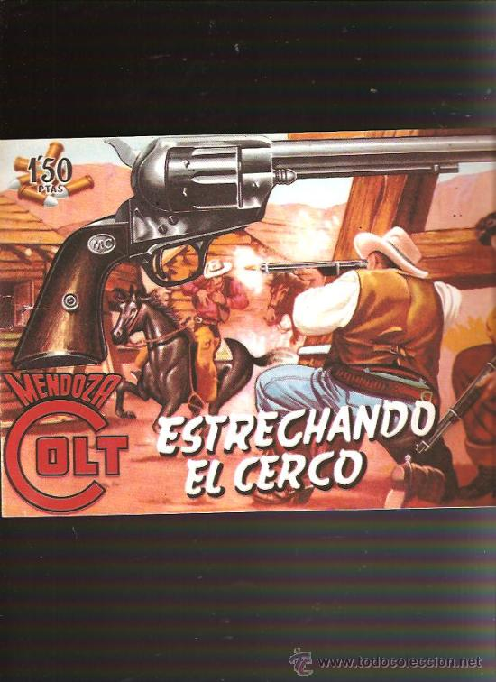 MENDOZA COLT (Tebeos y Comics - Rollán - Mendoza Colt)