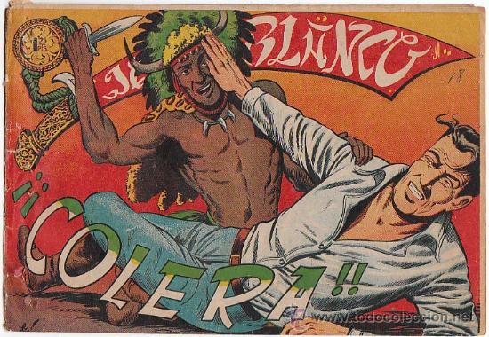 JEQUE BLANCO DE ROLLAN Nº 131, ORIGINAL NO REPRODUCCION (Tebeos y Comics - Rollán - Jeque Blanco)