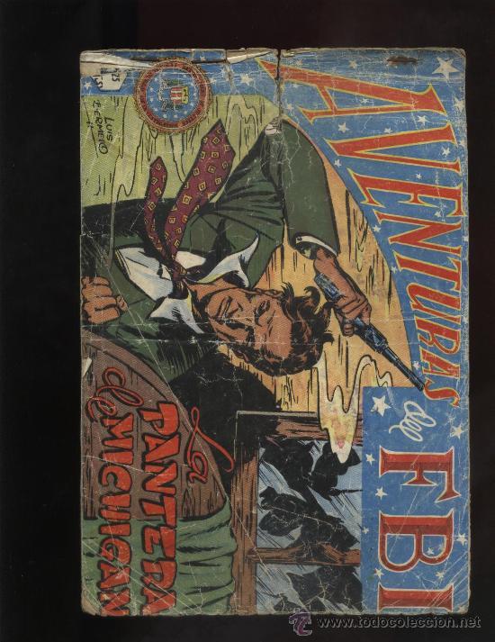 AVENTURAS DEL F.B.I (Tebeos y Comics - Rollán - FBI)