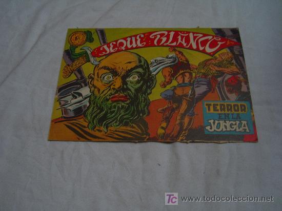 JEQUE BLANCO Nº 3: TERROR EN LA JUNGLA (Tebeos y Comics - Rollán - Jeque Blanco)