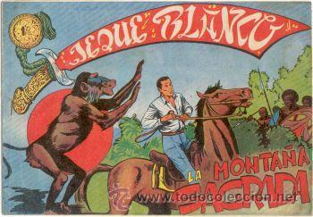 JEQUE BLANCO Nº114,ED.ROLLÁN (Tebeos y Comics - Rollán - Jeque Blanco)