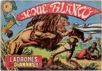JEQUE BLANCO Nº4,ED.ROLLÁN (Tebeos y Comics - Rollán - Jeque Blanco)