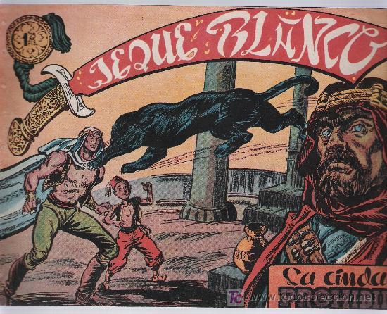 JEQUE BLANCO Nº 8. (Tebeos y Comics - Rollán - Jeque Blanco)