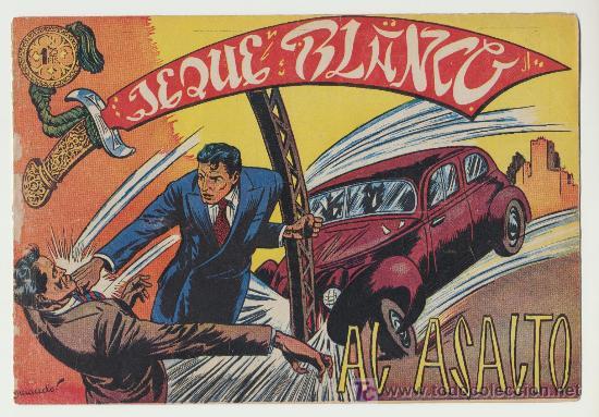 JEQUE BLANCO Nº 19. (Tebeos y Comics - Rollán - Jeque Blanco)