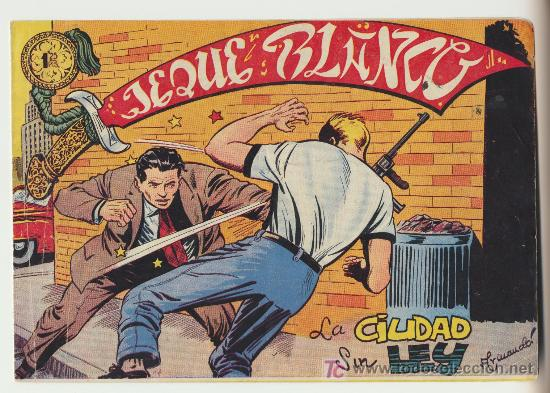 JEQUE BLANCO Nº 91. (Tebeos y Comics - Rollán - Jeque Blanco)