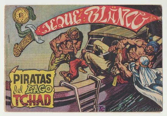 JEQUE BLANCO Nº 5. (Tebeos y Comics - Rollán - Jeque Blanco)