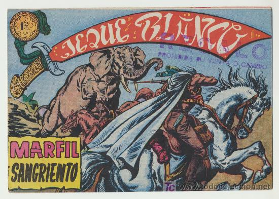 JEQUE BLANCO Nº 10. (Tebeos y Comics - Rollán - Jeque Blanco)